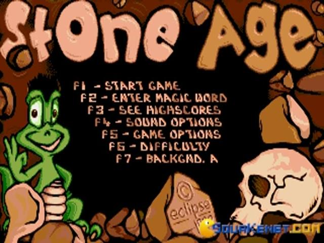 Stone Age - title cover
