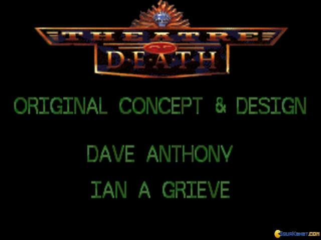 Theatre of Death - title cover