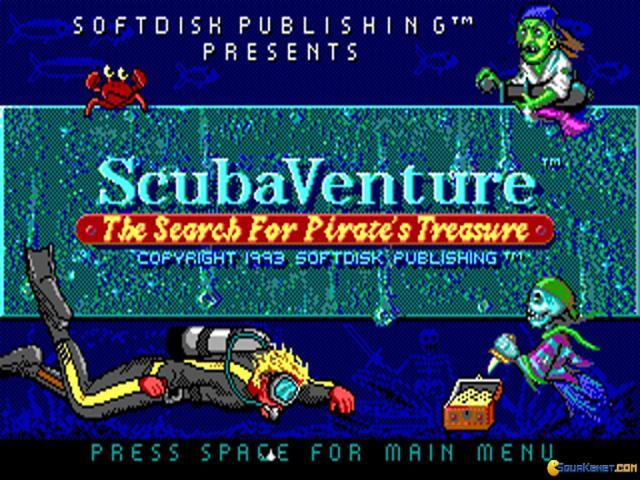 Scuba Venture - title cover