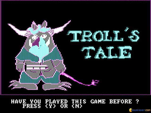 Troll's Tale - title cover