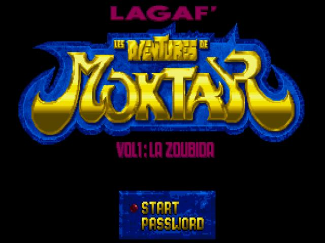 Moktar: la Zoubida - game cover