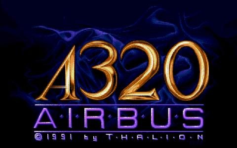 A320 Airbus - game cover