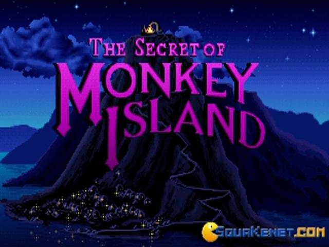 The Secret of Monkey Island - title cover