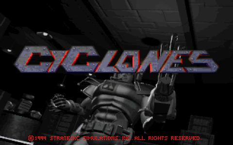 CyClones - title cover