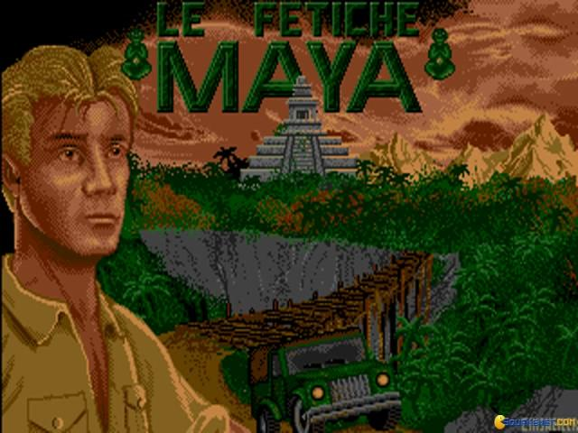 Le Fetiche Maya - game cover