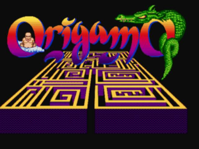 Origamo - title cover