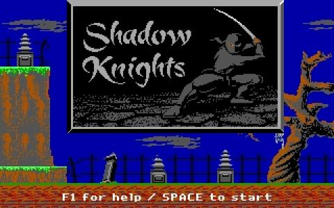 Shadow Knights - title cover