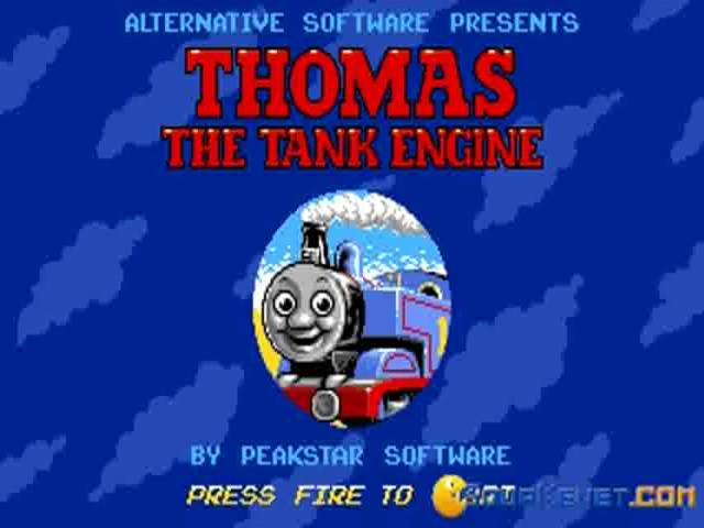 Thomas The Tank Engine and Friends - game cover