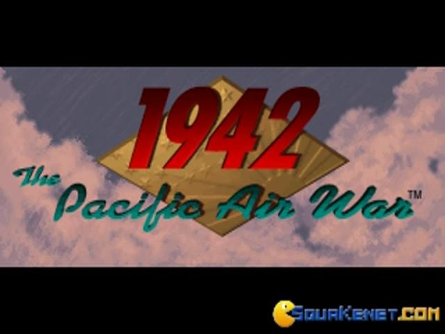 1942: The Pacific Air War - title cover