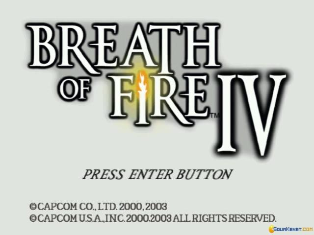 Breath of Fire IV - game cover