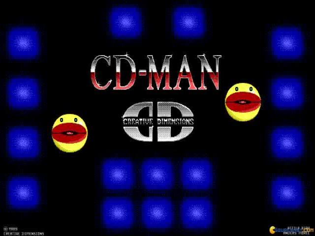 CD-Man Version 2 - game cover