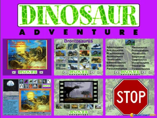 Dinosaur Adventure - game cover