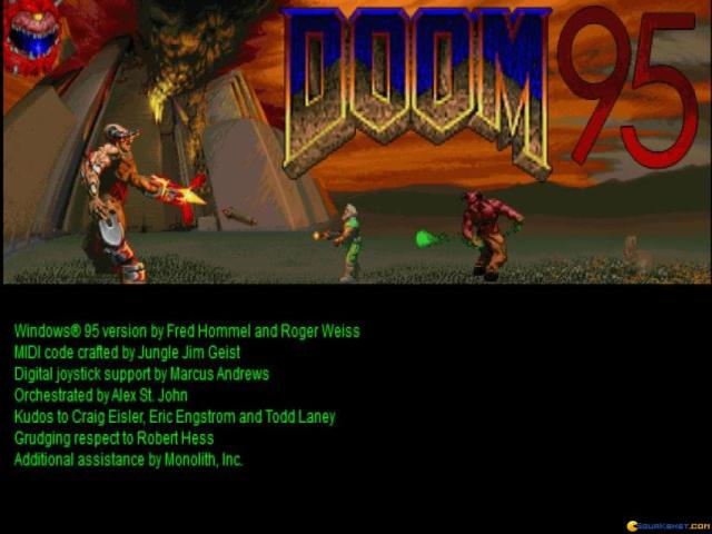 Doom 95 - game cover