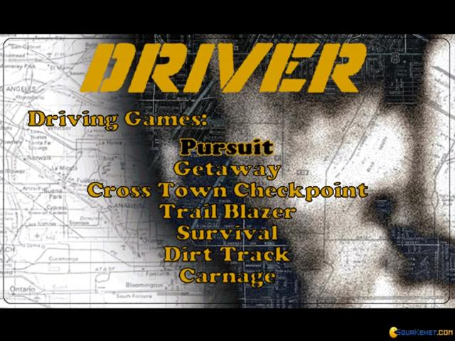 Driver - game cover