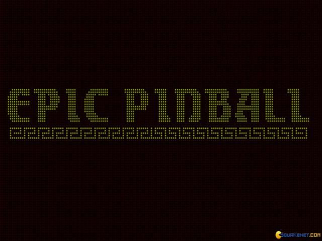 Epic Pinball - game cover