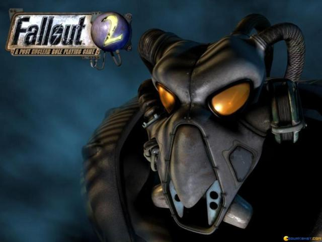 Fallout 2 - game cover