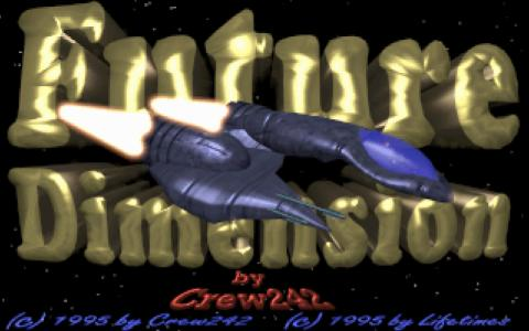 Future Dimension - title cover