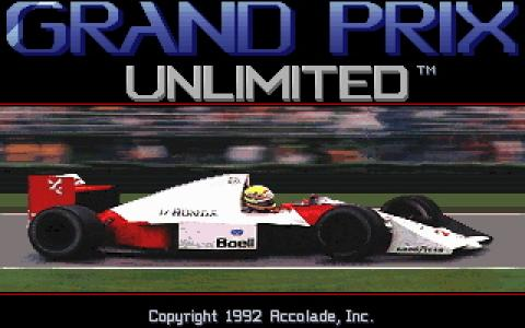 Grand Prix Unlimited - title cover