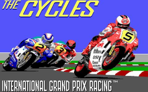 Grand Prix: The Cycles - title cover