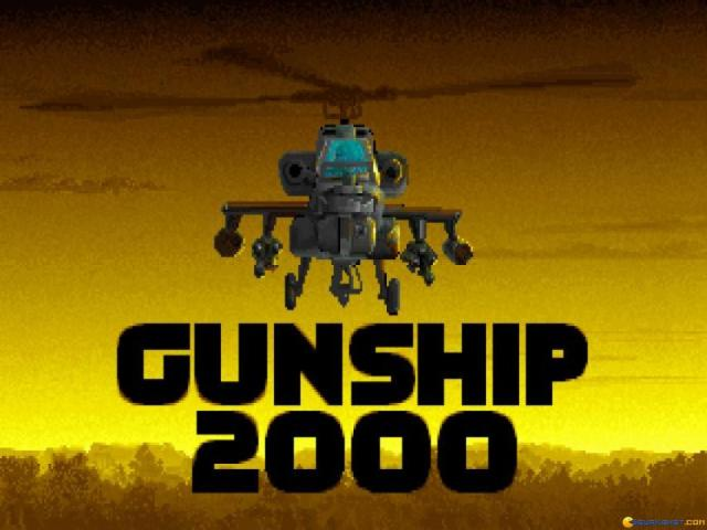 Gunship 2000 - title cover