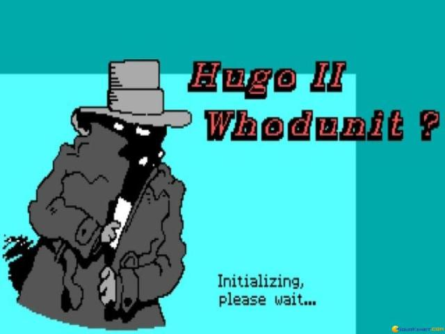 Hugo 2: Who Dunnit? - title cover