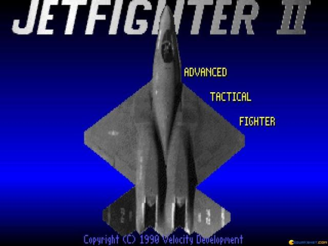 Jetfighter II - title cover