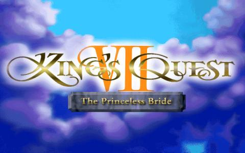 King's Quest 7: The Princeless Bride - title cover
