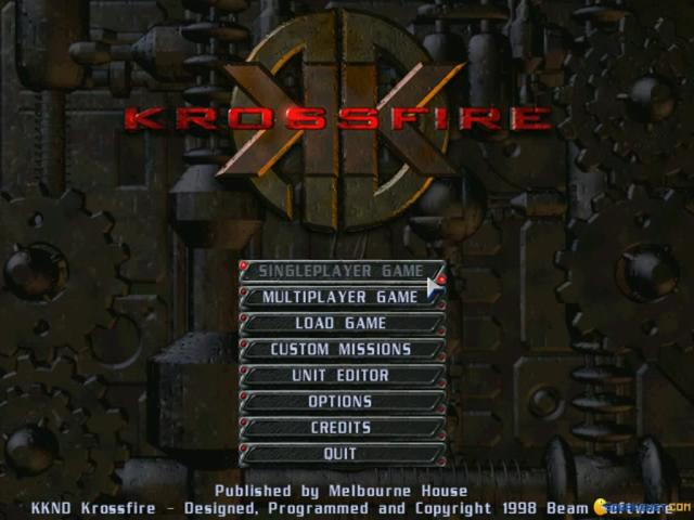 KKND2: Krossfire - game cover