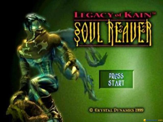 Legacy of Kain: Soul Reaver - title cover