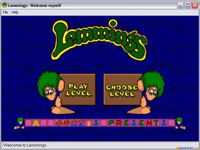 Lemmings '95 - title cover