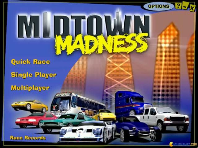 Midtown Madness - game cover
