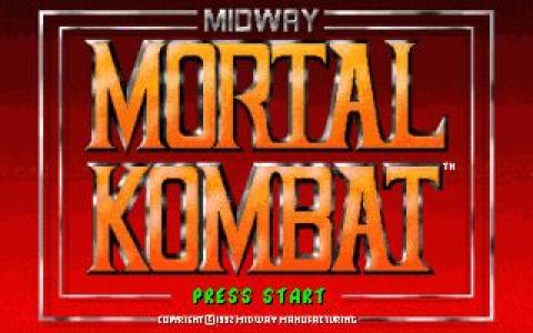 Mortal Kombat - game cover