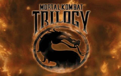 Mortal Kombat Trilogy - game cover