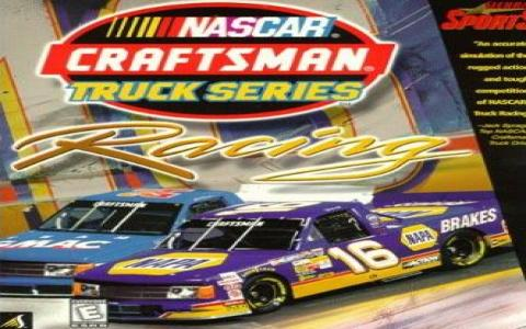 Nascar Craftsman Truck Series Racing - title cover