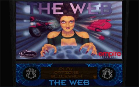 Pro Pinball: The Web - title cover