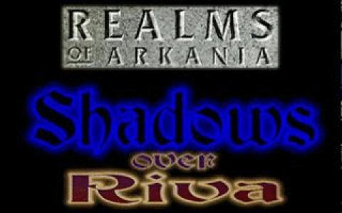 Realms of Arkania 3: Shadows Over Riva - title cover