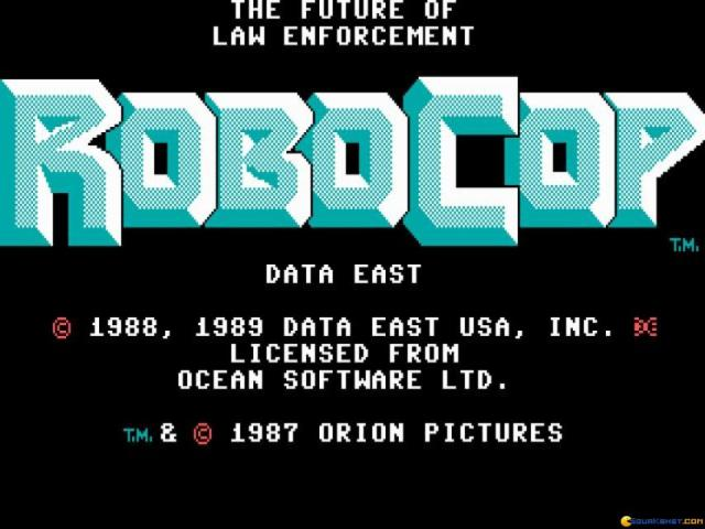 RoboCop - game cover