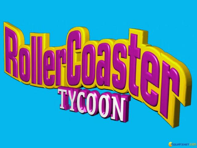 RollerCoaster Tycoon - game cover