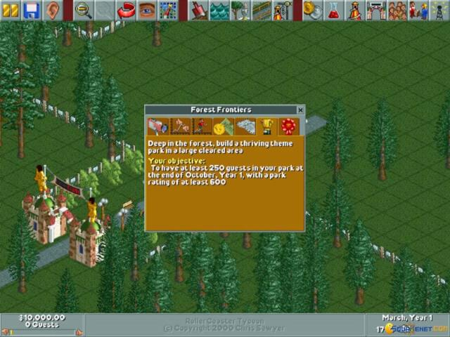 RollerCoaster Tycoon download PC