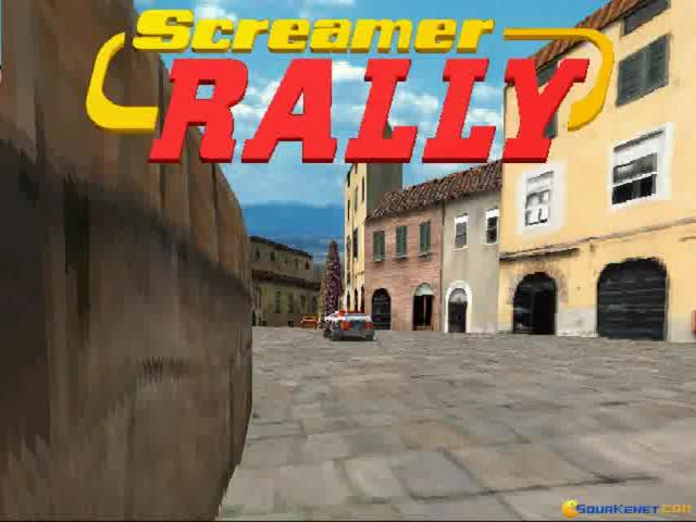 Screamer Rally - title cover
