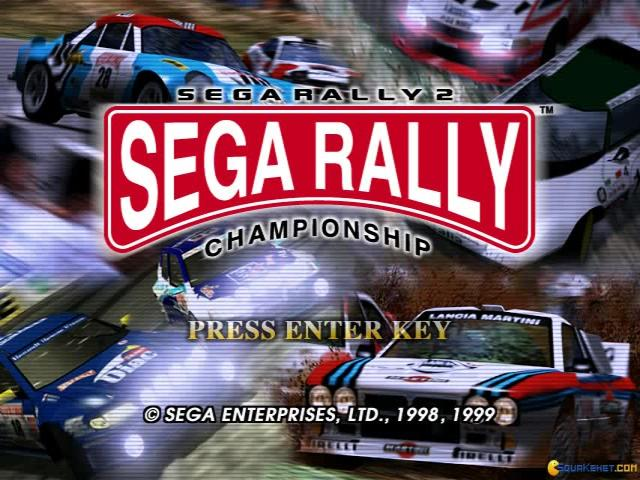 Sega Rally 2 Championship - game cover