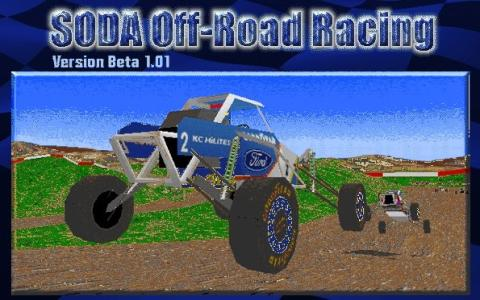 SODA Off-Road Racing - game cover