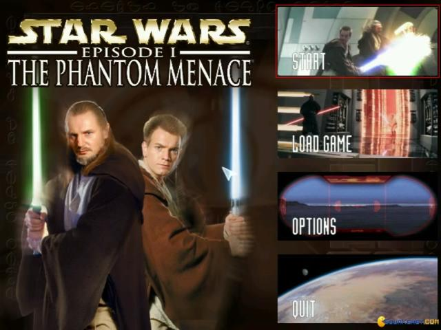 Star Wars Episode 1: The Phantom Menace - title cover