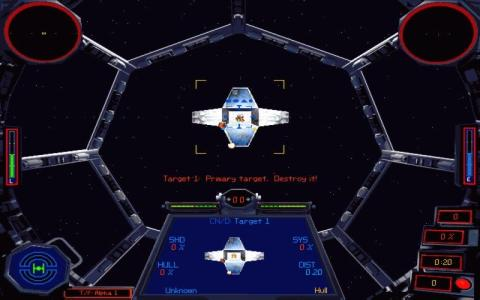 Star Wars: X-Wing vs. TIE Fighter - game cover