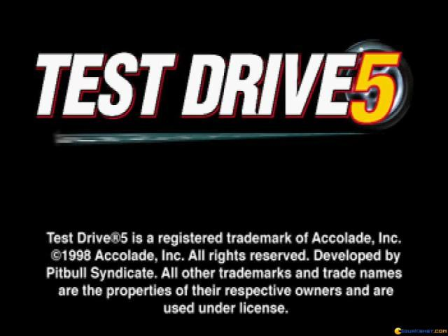 Test Drive 5 - title cover