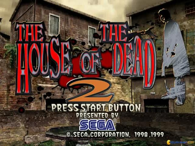 The House of the Dead 2 - title cover