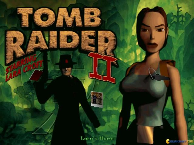 Tomb Raider II: The Dagger of Xian - title cover