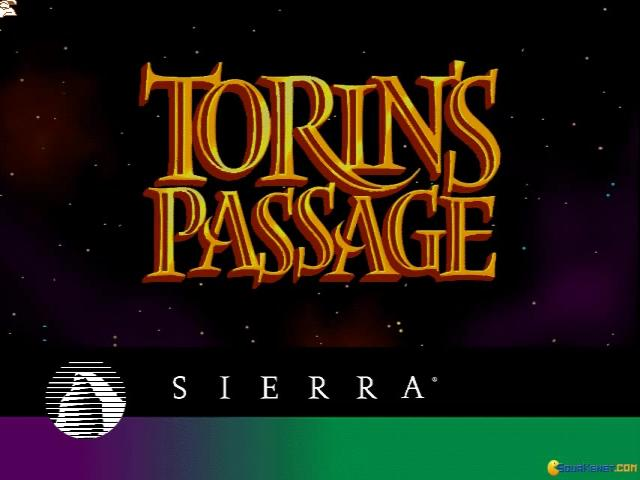 Torin's Passage - title cover