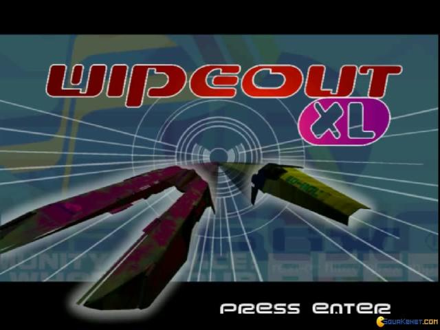 Wipeout XL - game cover