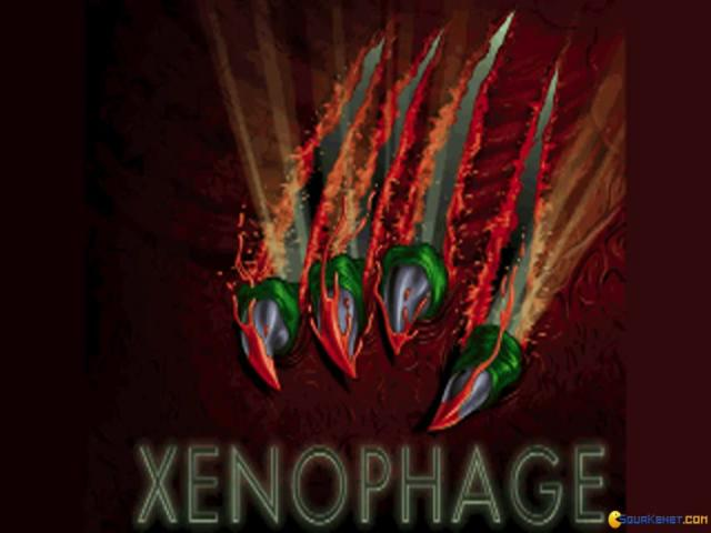 Xenophage: Alien BloodSport - title cover